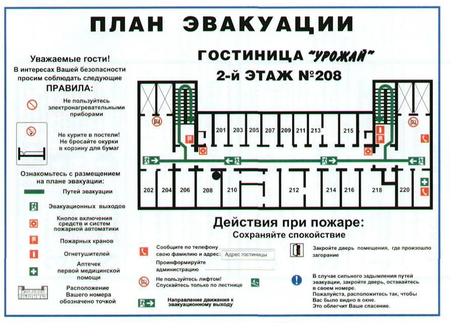 План эвакуации Феодосия
